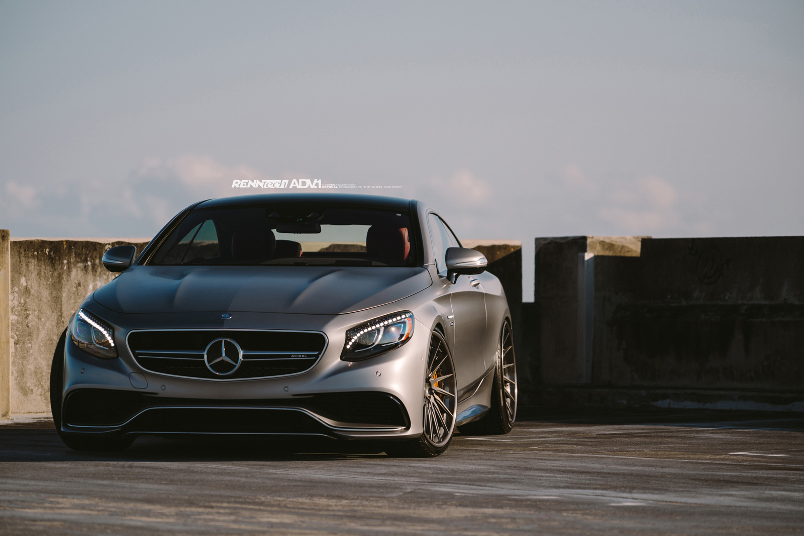 Renntech Powered S63 Amg Coupe Merc Poses On Adv1 Wheels 39 Pics