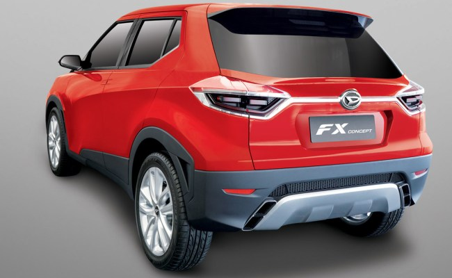 Daihatsu Fx Concept May Preview Small Suv For Asian Markets Carscoops