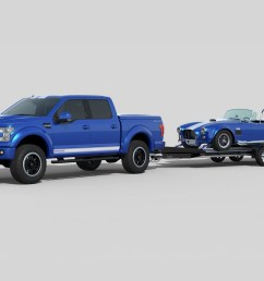 shelby brings the blue thunder to sema with 700hp f 150 truck carscoops [ 1600 x 1067 Pixel ]