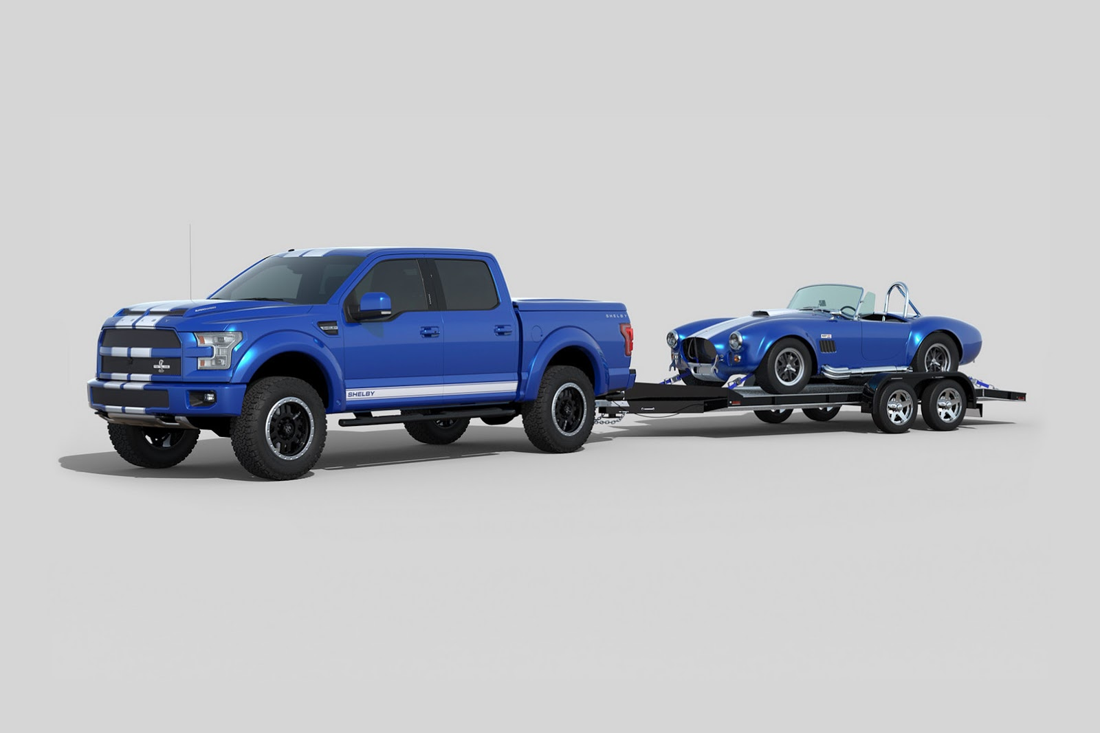 hight resolution of shelby brings the blue thunder to sema with 700hp f 150 truck carscoops