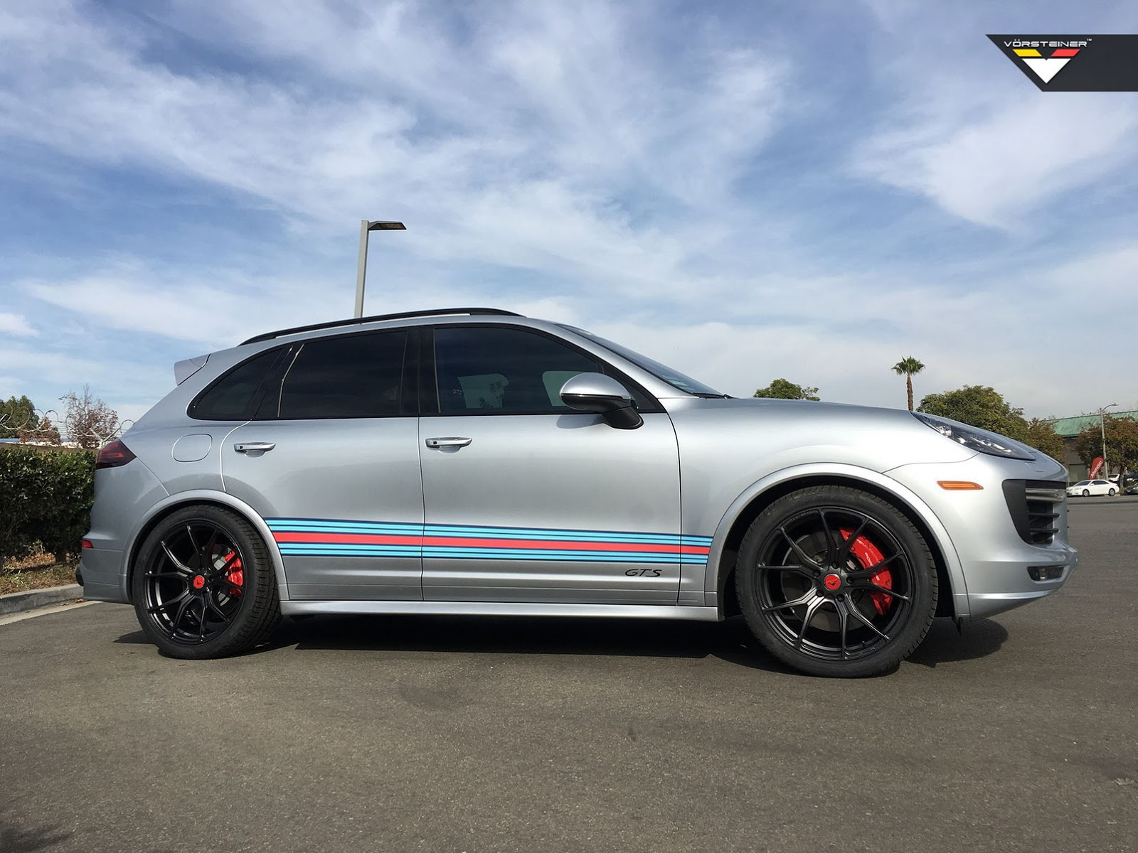 Vorsteiners Company Car Is A Martini Livered Cayenne Gts Carscoops