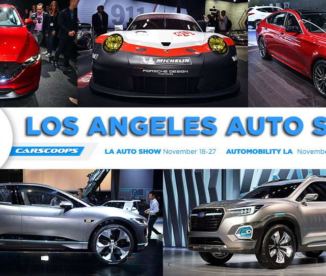 The Annual Los Angeles Auto Show Is Here Offering Up More Than 50 New Production And Concept Models While Also Serving As A Meeting Place For The Auto Tech
