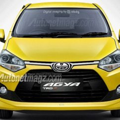 New Agya Trd 2018 Toyota Yaris Rear Sway Bar Facelifted Leaks In Indonesia Carscoops A Number Of Images Have Leaked Online Depicting The 2017 Guise Ahead Its Indonesian Debut On April 7th