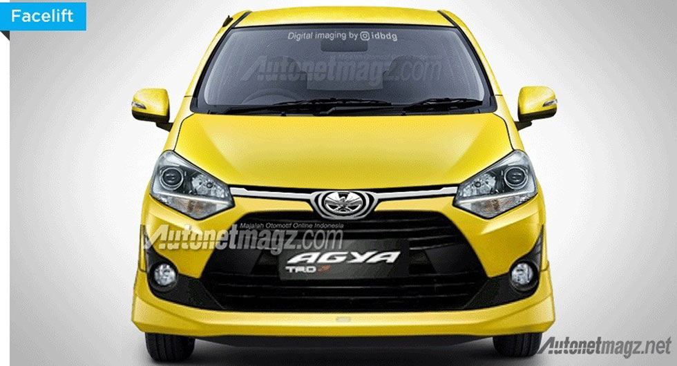new agya trd 2018 all alphard facelift facelifted toyota leaks in indonesia carscoops a number of images have leaked online depicting the 2017 guise ahead its indonesian debut on april 7th
