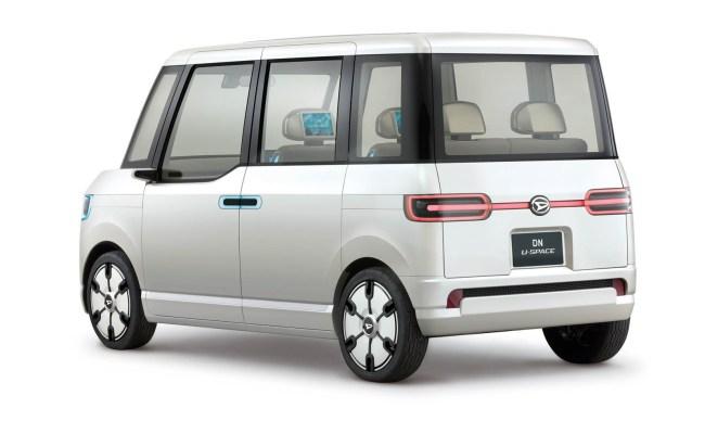 Daihatsu S Tokyo Concepts Blend Retro And Futuristic