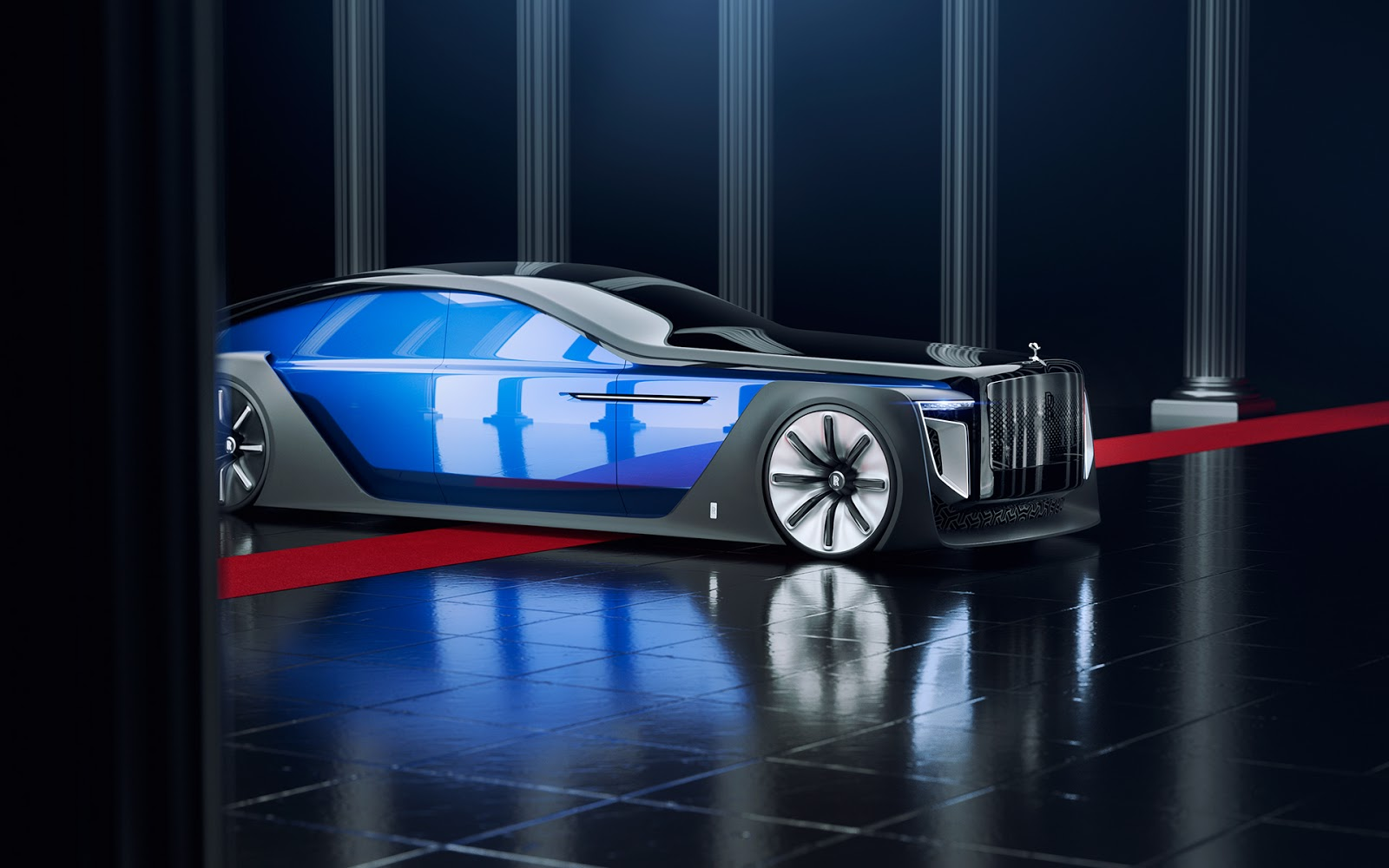 Rolls Royce Exterion Concept Goes Well Beyond The Sweptail
