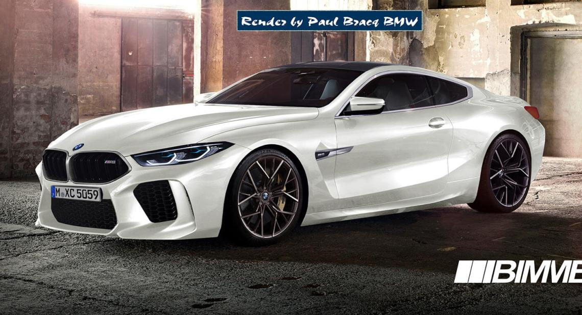 2019 bmw m8 coupe more realistically rendered | carscoops