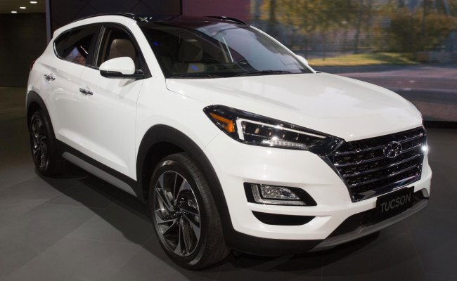 2019 Hyundai Tucson Gets A Mild Makeover Inside And Out