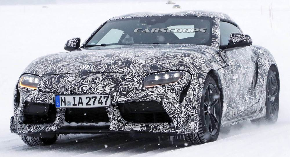 medium resolution of toyota supra will be a pure sports car and very different from the bmw z4 carscoops