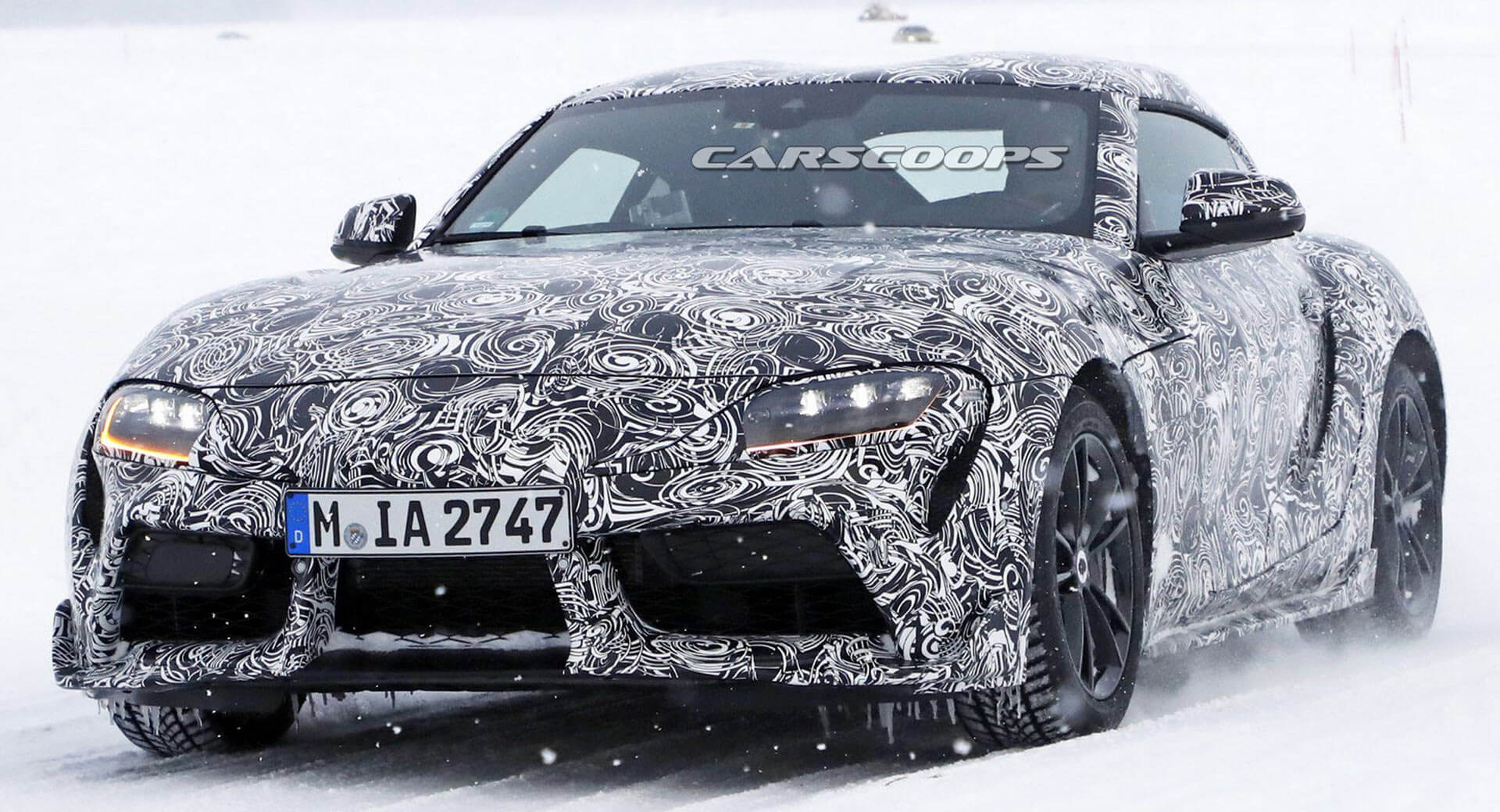 hight resolution of toyota supra will be a pure sports car and very different from the bmw z4 carscoops