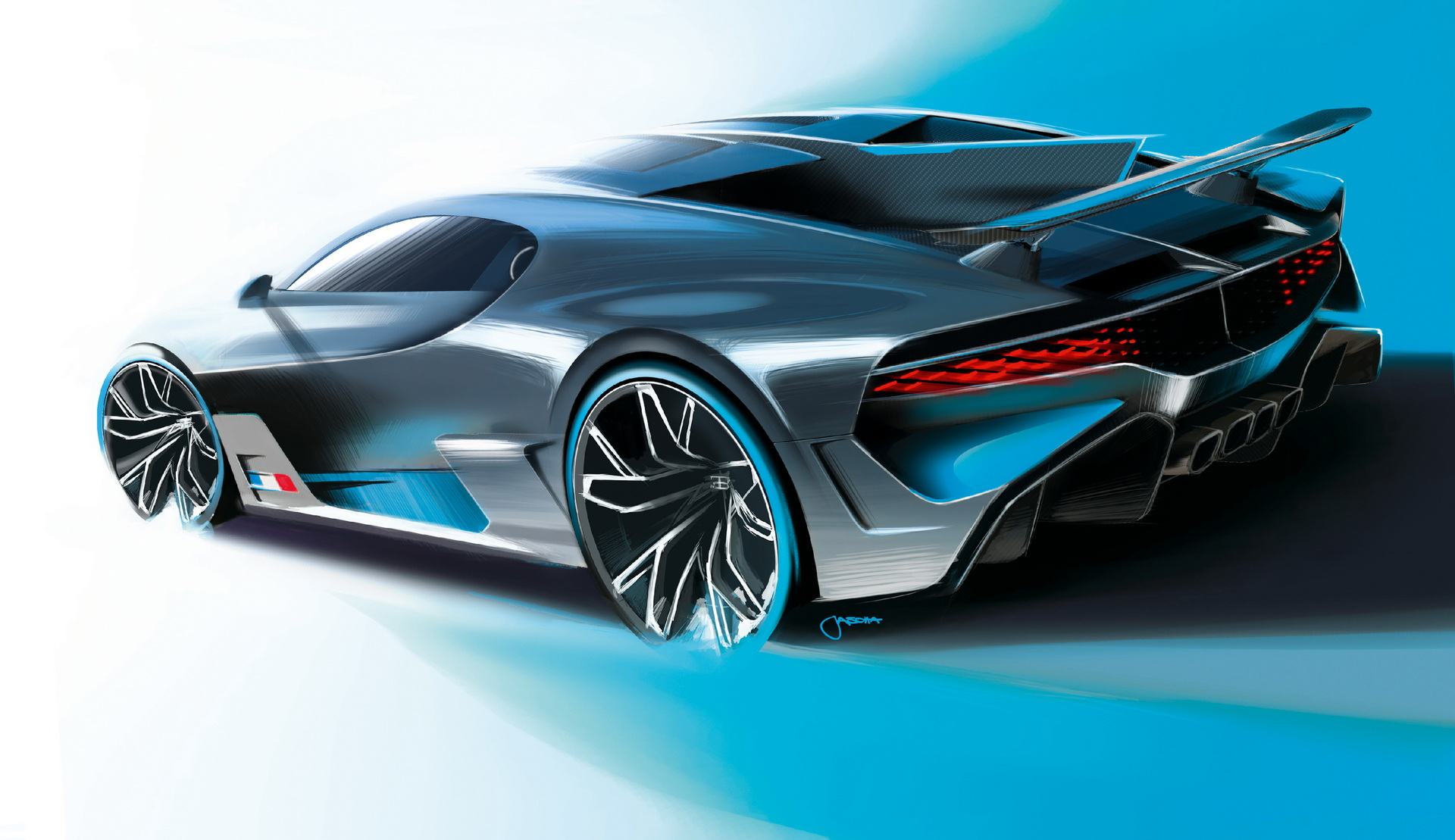 Bugatti Divo Debuts With 1500 HP. Only 40 Units Will Be Made