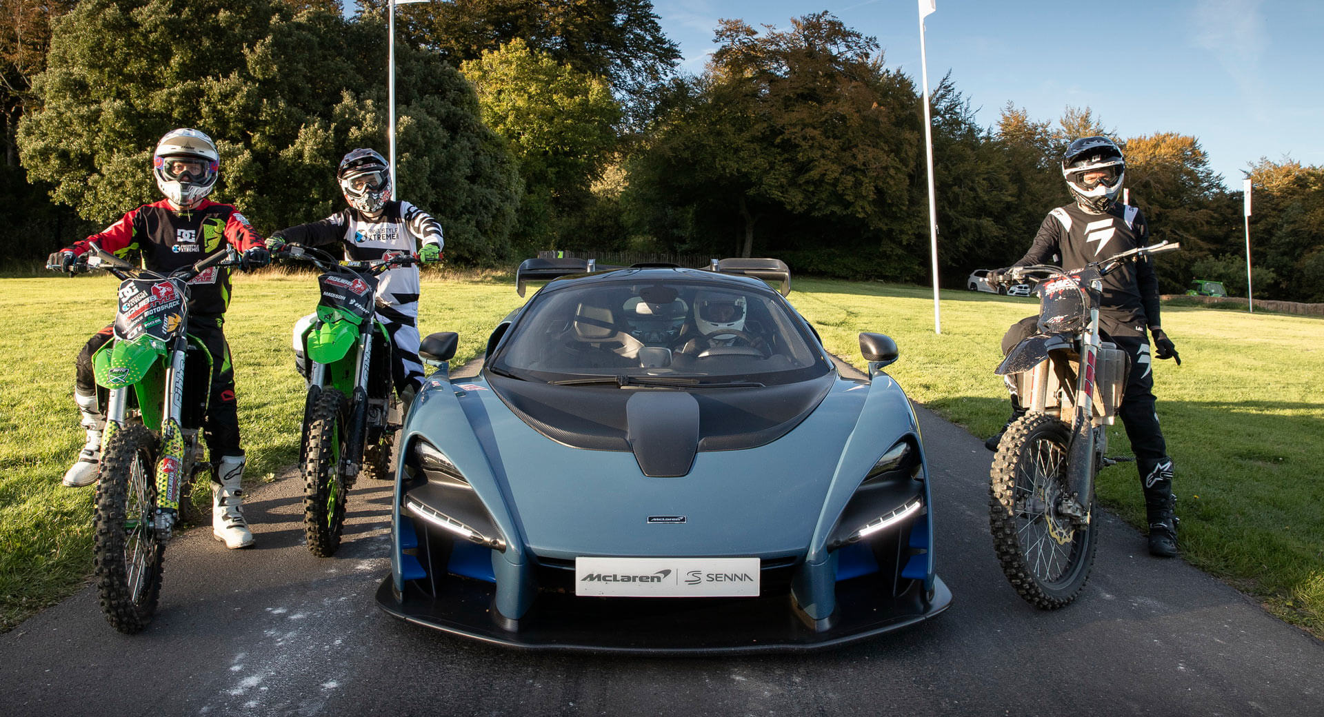 McLaren Senna Celebrates Launch Of Forza Horizon 4 By