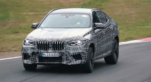 2020 Bmw X6 M Set Loose At The Track For Testing Purposes Website