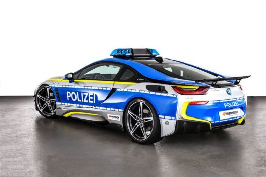 Ac Schnitzer S Bmw I8 Is A Police Car People Will Actually Be Happy