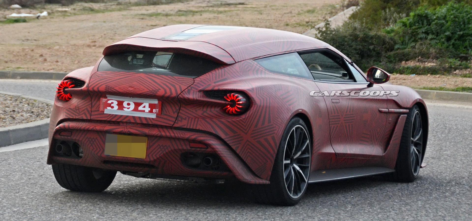 New Aston Martin Vanquish Zagato Shooting Brake Is Coming For