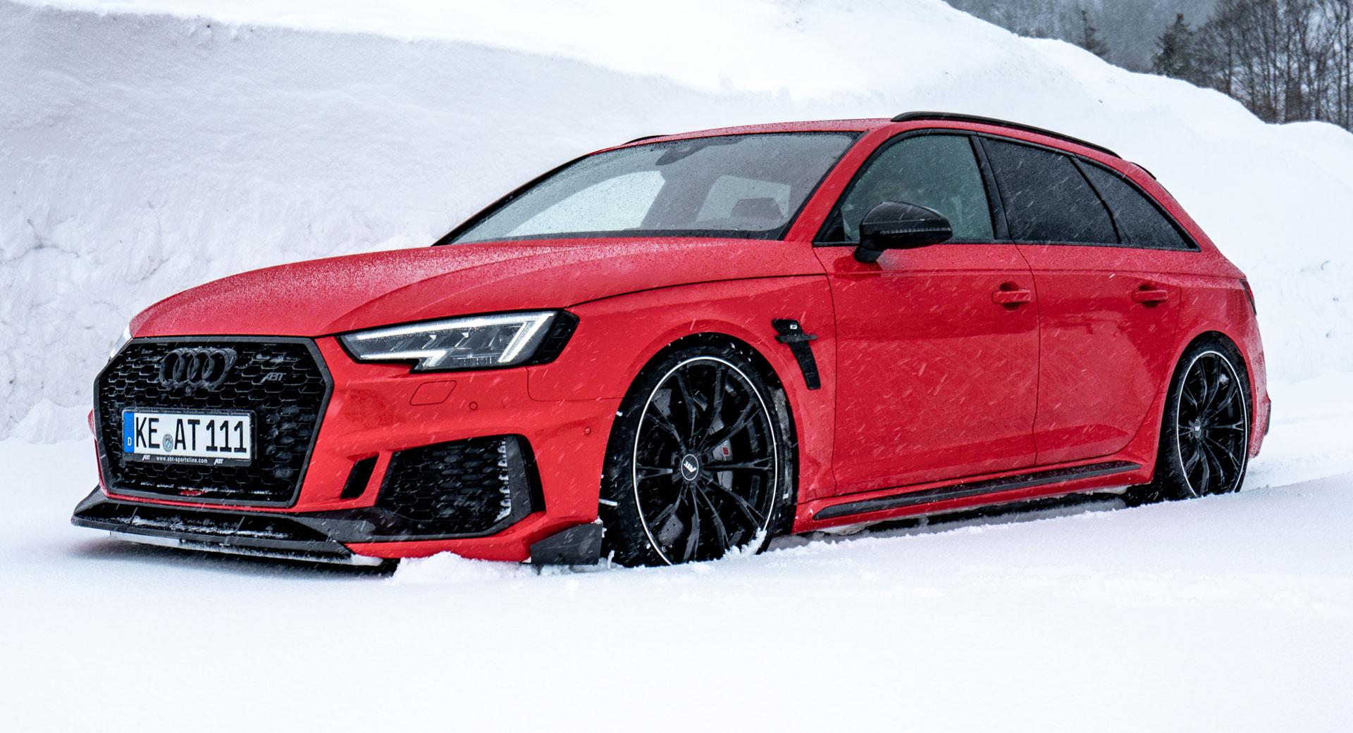 ABT Sportline Audi RS4 Is A 500 PS SnowConquering Super