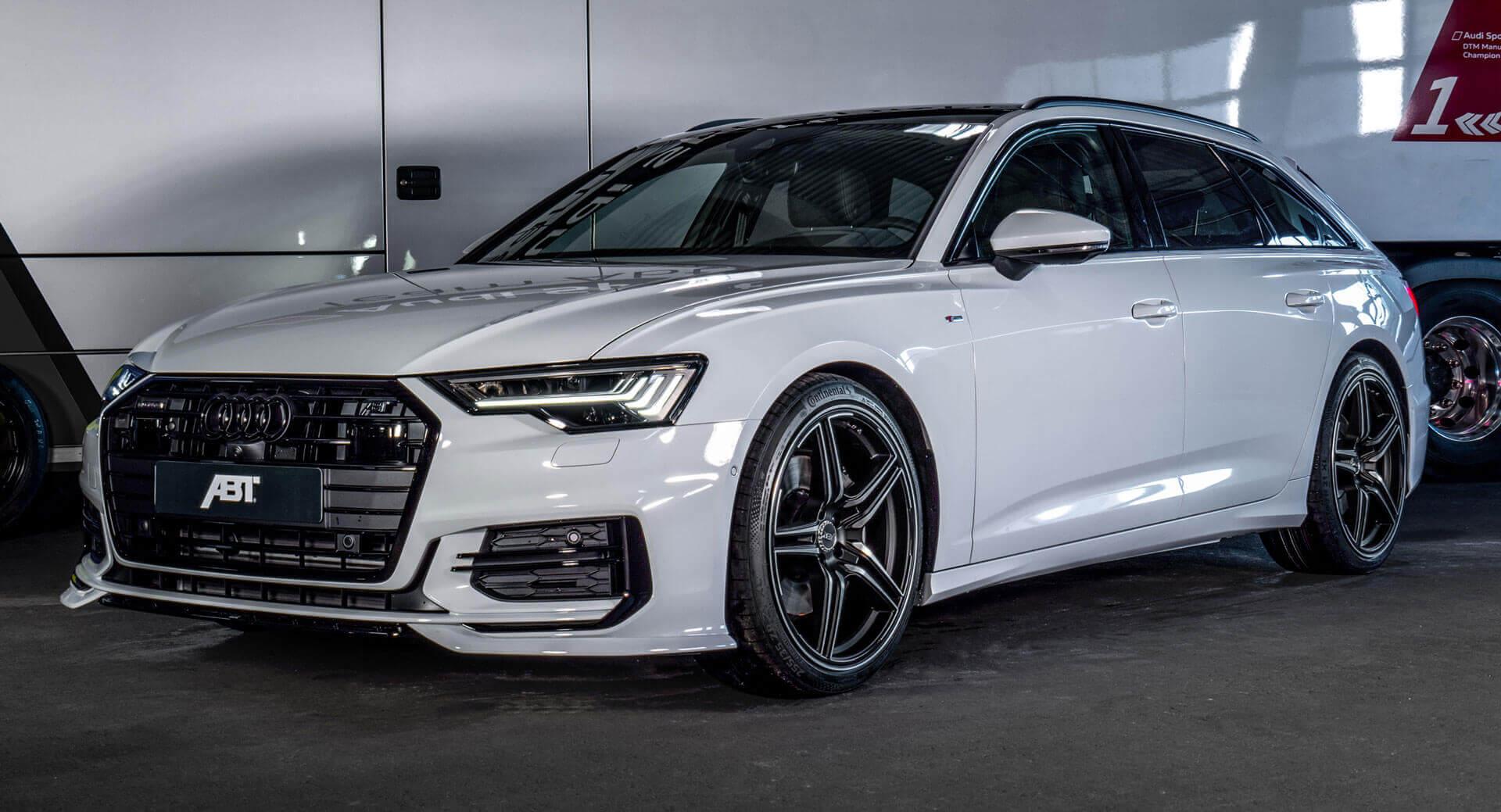 Glacier White Audi A6 Avant 3 0l Diesel Gets 325 Hp