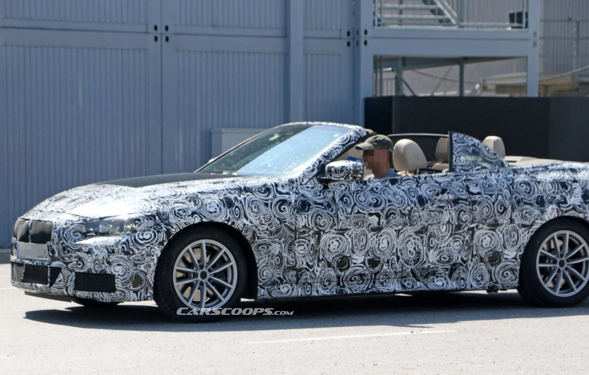 2020 Bmw 4 Series Convertible Gives Us Our First Topless Look