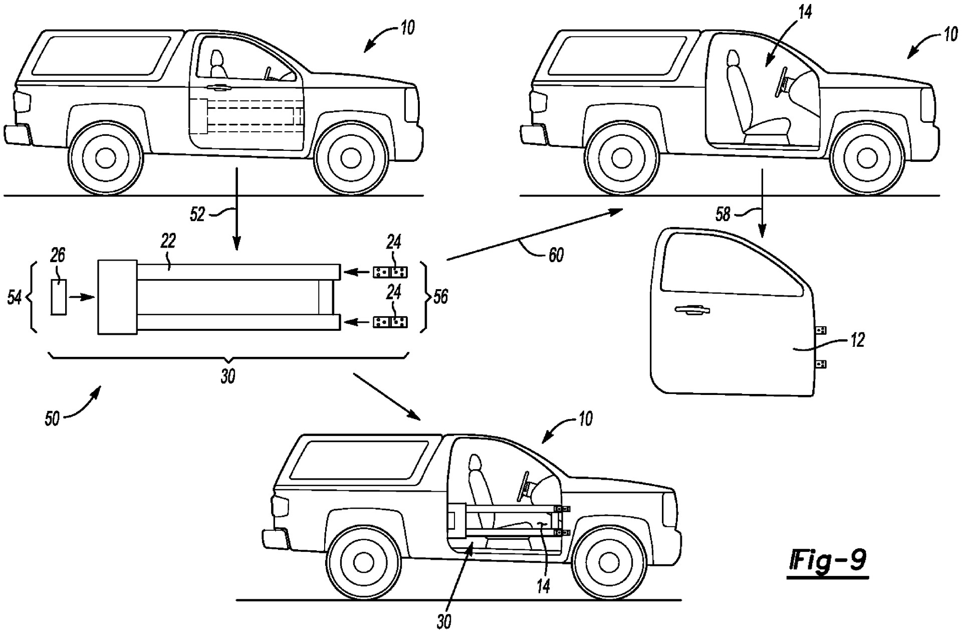 Ford Patent Hints At 2-In-1 Removable Doors, Could They