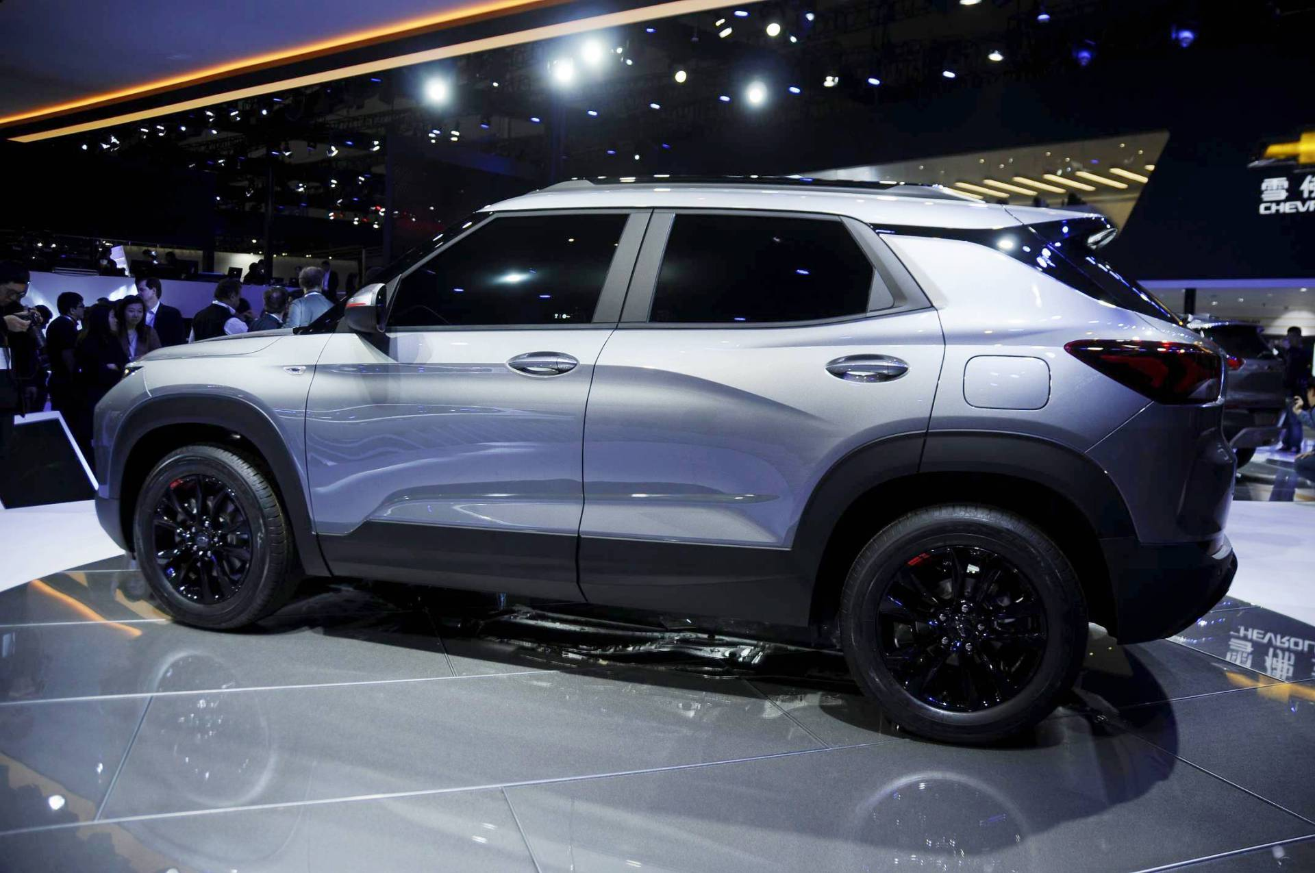 new chevy tracker and