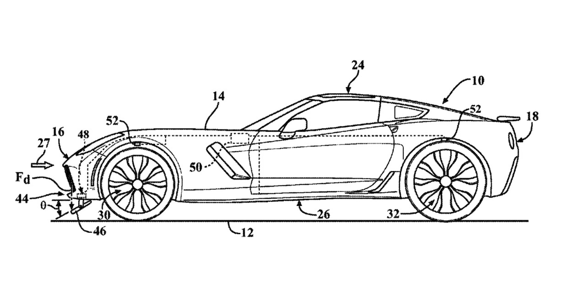 Mid Engine C8 Corvette Could Get Trick Active Aero System