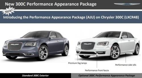 small resolution of essentially what chrysler is doing is expanding the availability of the sport appearance package from the 300s to the 300c top of the line model