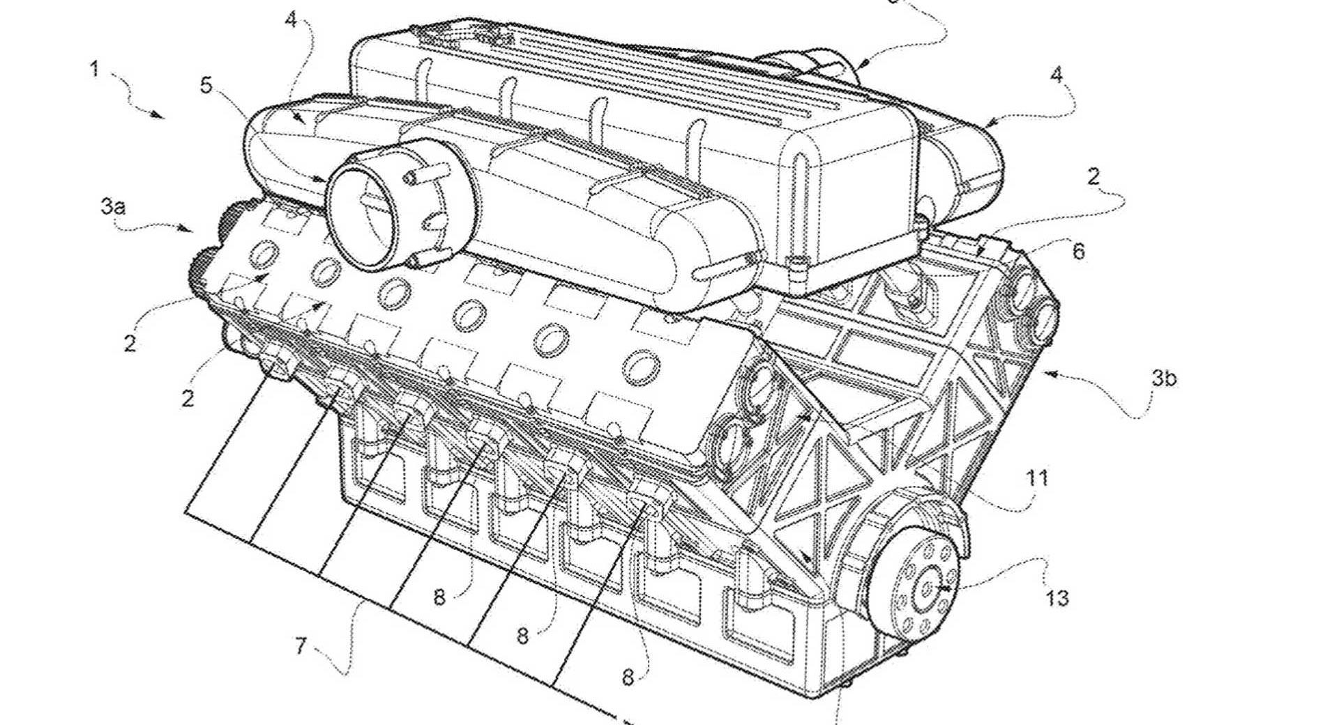 Ferrari Files Patents For New, More Fuel-Efficient V12
