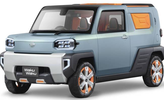 Daihatsu Reveals Four Quirky Concepts For Tokyo Including