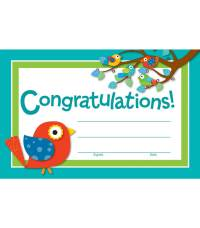 Boho Birds Awards & Certificates