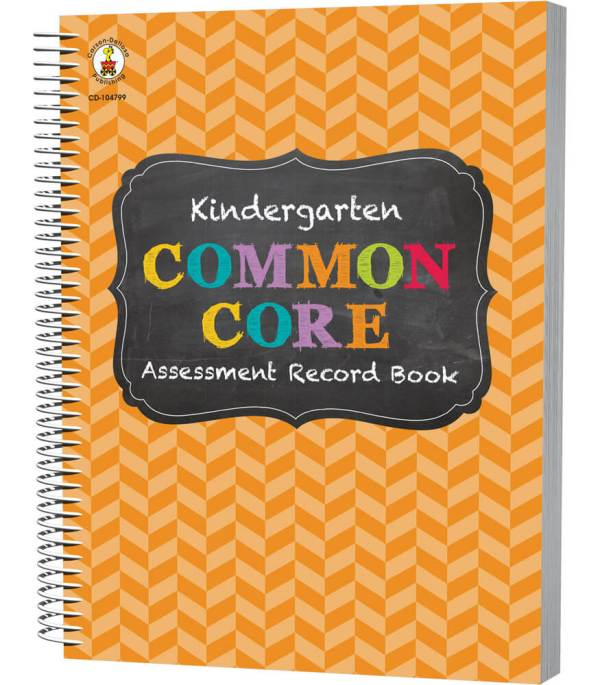Common Core Assessment Book Record