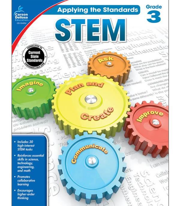 Stem Workbook Grade 3 Carson-dellosa Publishing