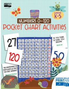 Nature explorers numbers printable pocket chart activities also rh carsondellosa