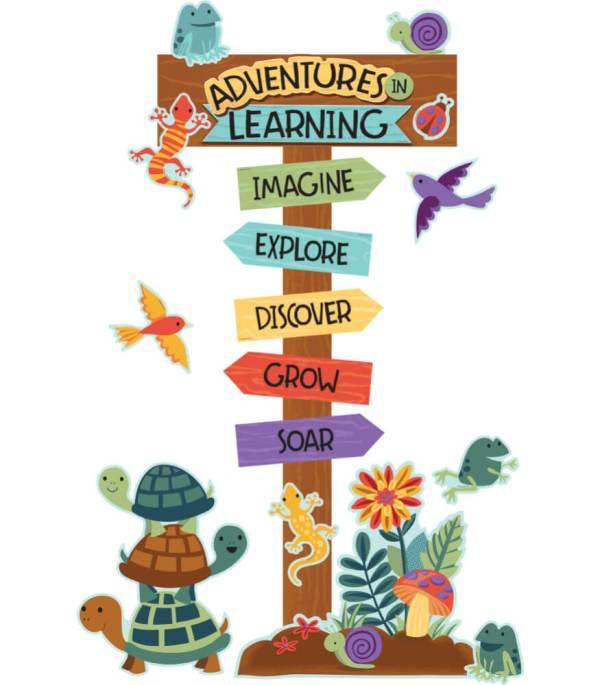 Learning Is an Adventure Bulletin Board
