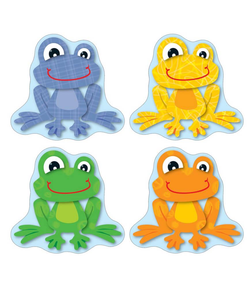FUNky Frogs Cut Outs Grade PK 8 Carson Dellosa Publishing