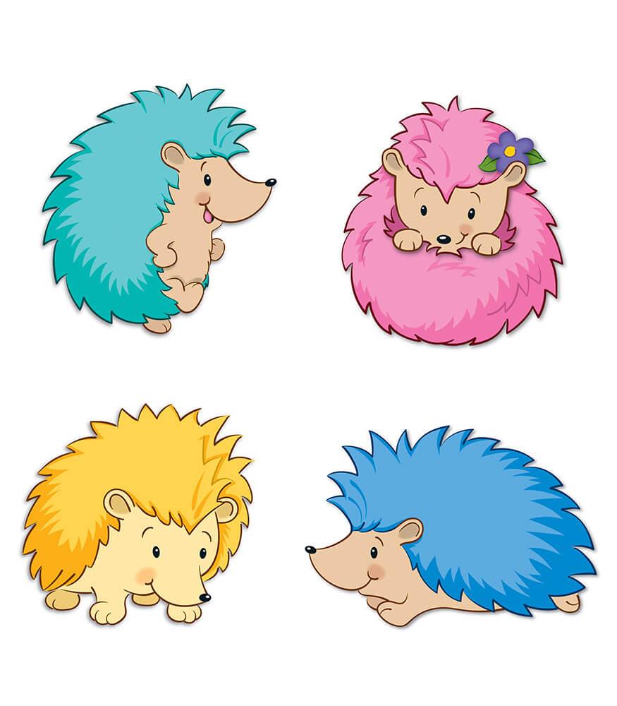 Happy Hedgehogs Cut Outs Grade PK 8 Carson Dellosa