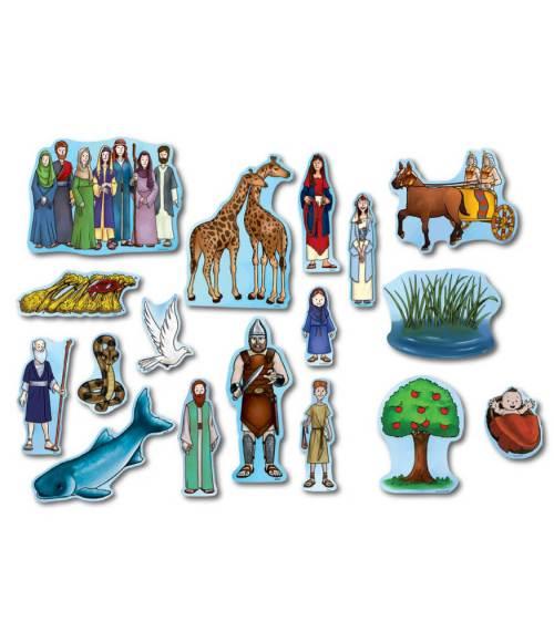 Old Testament Characters Sunday school Bulletin Board Set