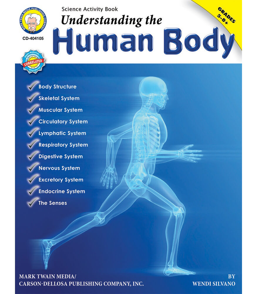 Understanding the Human Body Resource Book Grade 512  CarsonDellosa Publishing