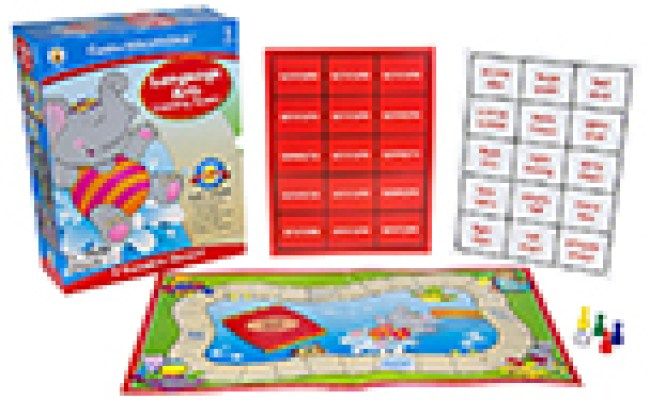 Language Arts Learning Games Board Game Grade 2