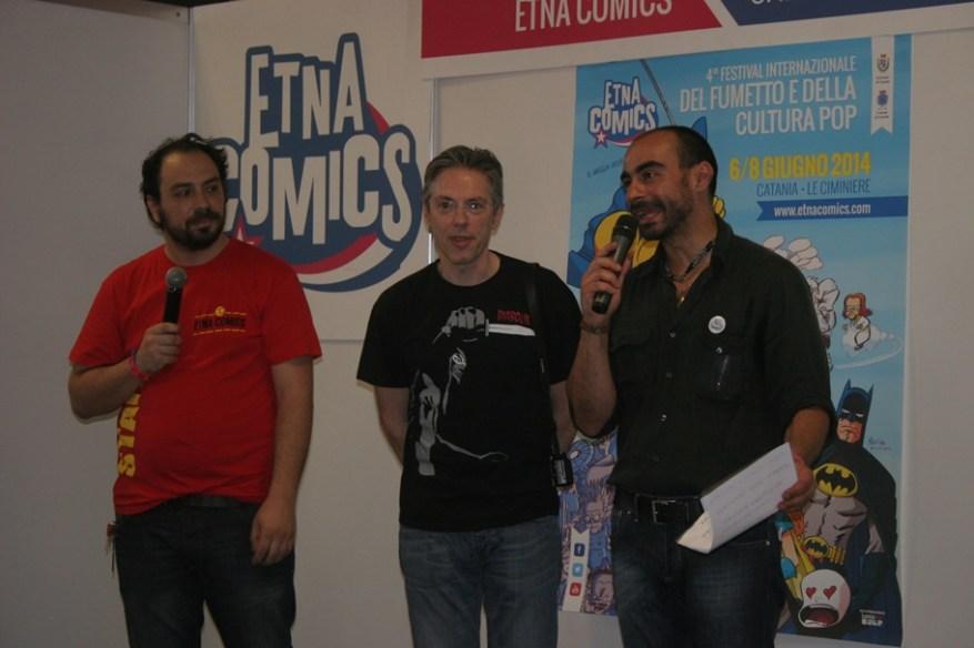 Presentazione Etna Comics Awards