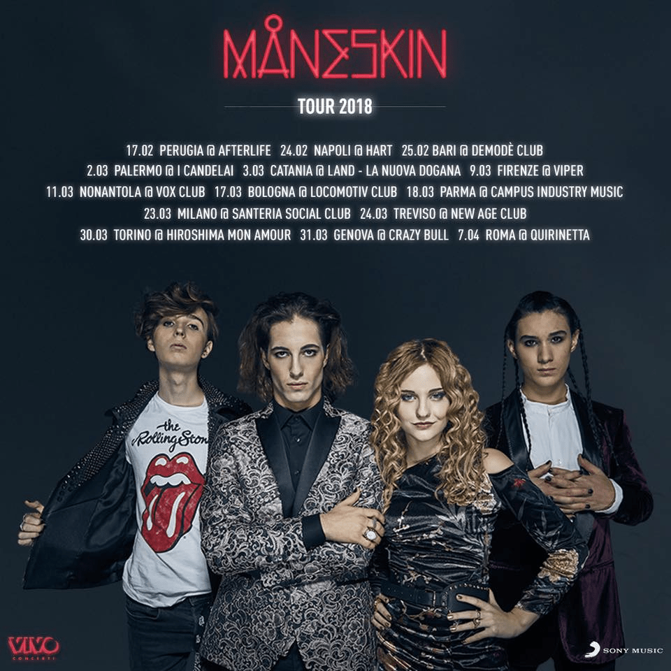 Maneskin mania: 'delirio' al firma copie e concerti subito sold out