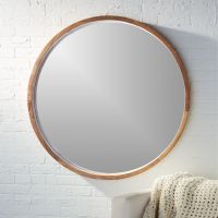 "acacia wood 40"" mirror + Reviews 
