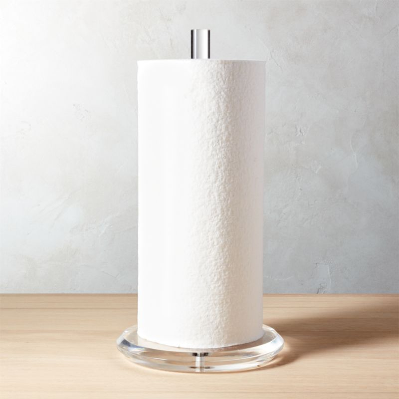 Acrylic Paper Towel Holder  Reviews  CB2