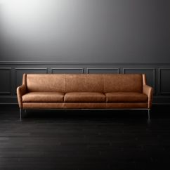 Xl Sofa Throws Bristol Shops Alfred Extra Large Cognac Leather | Cb2