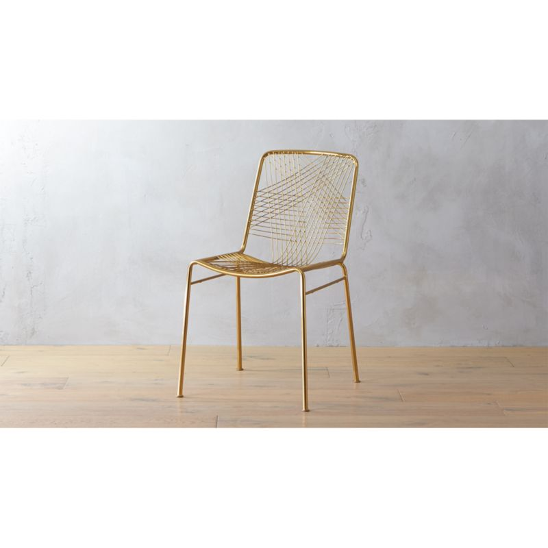 alpha brass chair  Reviews  CB2