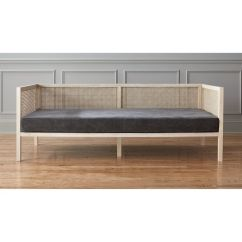 Next Day Sofa Delivery Antique Table For Sale Boho Rattan Daybed + Reviews   Cb2