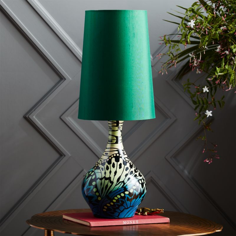 butterfly table lamp  CB2
