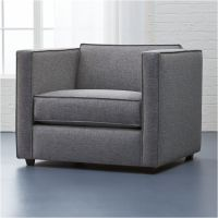 club chair Taylor: Grey | CB2