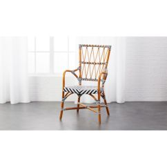 French Rattan Bistro Chairs Mesh Office Chair With Lumbar Support Criss Cross Cafe + Reviews | Cb2