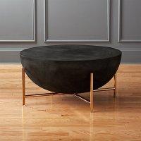 darbuka brass coffee table | CB2