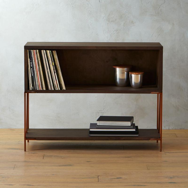 Dean Record Cabinet Console CB2
